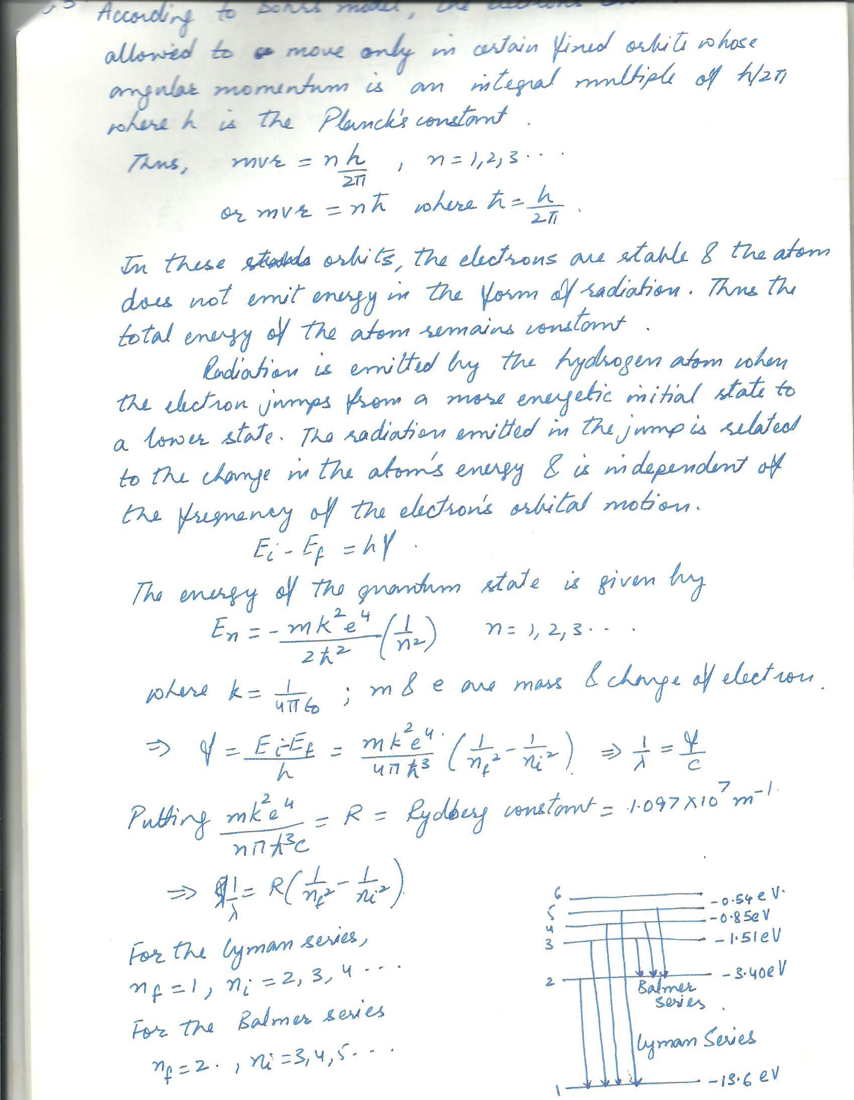 Buzztutor questions and answers by category describe how the bohr concept of the atom was able to explain the discrete sprctra for hydrogenclude stationary stares emission exited energy states altavistaventures Choice Image